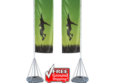 Mondo 17ft Flag Double Sided